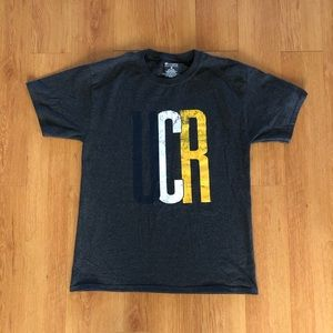 Champion UCR UC Riverside Spell Out Graphic Tee M
